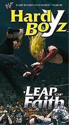WWE Hardy Boyz Leap of Faith VHS Video SEALED Matt Jeff