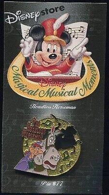 Old Disney Halloween Music (Old Disney Pin Magical Musical Moments Headless Horseman Ichabod Crane)