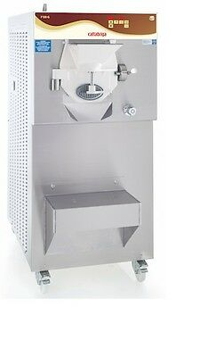 Brand New Cattabriga F90 Batch Freezer Oscartielle 12 Pan Gelato Display Case