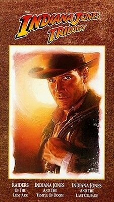 The Indiana Jones Trilogy - VHS - Brand New