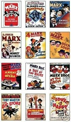 The Marx Brothers Film Poster Trading Card Set