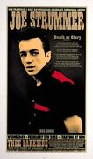 Joe Strummer Signed