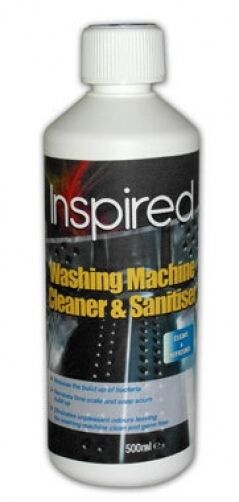 Inspired Washing Machine Cleaner and Sanitiser - 500ml Reduces Bacteria Build Up