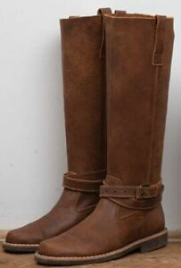 Roots women Western Riding Boots Tribe leather Brand new in box
