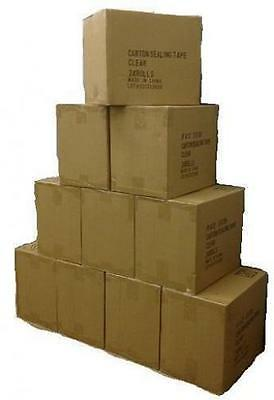 3 CASES (108 ROLLS) CLEAR BOX PACKING SHIPPING TAPE 2