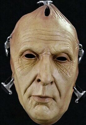 Officially Licensed SAW Jig Saw Death Face Mask](Halloween Saw Face)