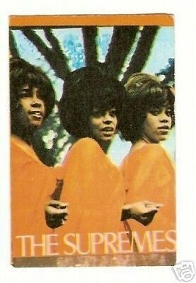 The Supremes Diana Ross Vintage Soul 1960s French Card