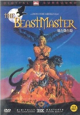 The Beastmaster (1982) DVD (Sealed) ~ Marc Singer