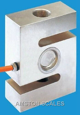 1000 Lb S-type Load Cell Sensor Strain Guage Scale Weighing Spring Smasher Stype
