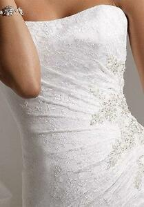 Sophia Tolli Wedding Dress and veil