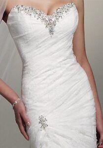 Sophia Tolli - Wedding Dress - Mermiad, Strapless, Corset