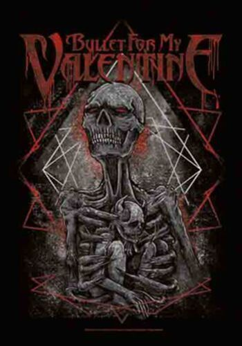 BULLET FOR MY VALENTINE - SKELETON - FABRIC POSTER - 30x40  WALL HANGING HFL1170