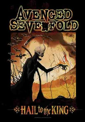 AVENGED SEVENFOLD - REAPER - FABRIC POSTER - 30x40 WALL HANGING 1145