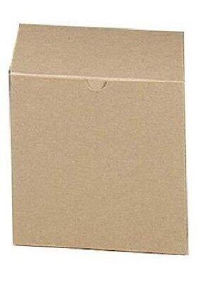 Boxes Gift 100 Kraft Tan 6 X 6 X 6 Cardboard Cup Saucer Box Card Board Retail