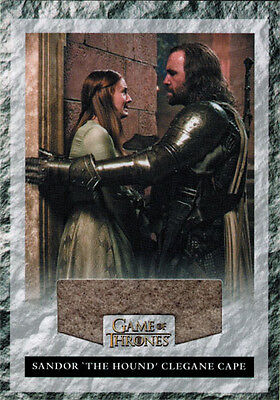 Game of Thrones Season Three Costume Wardrobe Card R2 Sandor The Hound](The Hound Game Of Thrones Costume)