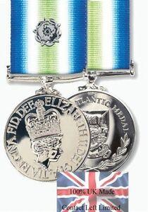 Official FULL SIZE Falklands South Atlantic Medal + Ribbon + Rosette ( UK Made