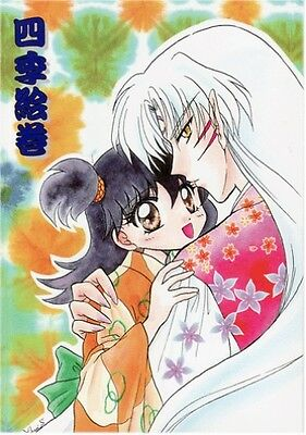 InuYasha doujinshi Sesshoumaru Sesshomaru x Rin Four Seasons Picture Scroll 70p