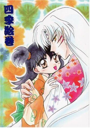 InuYasha doujinshi Sesshoumaru Sesshomaru x Rin Four Seasons Picture Scroll 70p