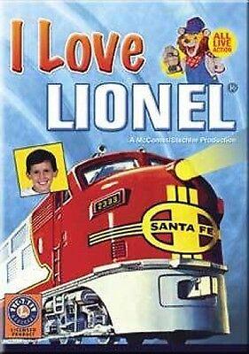 I Love Lionel DVD NEW. Trains, NYC Hudson, Flying Yankee, GG1, Big Boy, F-3 Kids
