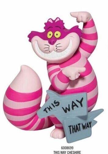 Disney Showcase 2021 Alice in Wonderland 70th This Way Cheshire Cat Mini Figure
