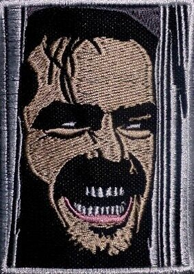 The Shining Embroidered Patch Horror Movie Jack Nicholson Stanley Kubrick John
