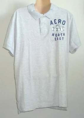 Mens AEROPOSTALE Embroidered Football Jersey Polo Shirt NWT #1960