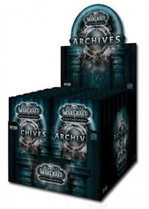 WOW-WORLD-OF-WARCRAFT-ARCHIVES-TREASURE-PACK-BOX-24CT-SEALED