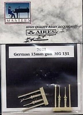 AIRES 7021 German 13mm guns MG 131 Scale 1/72