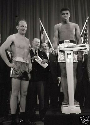 Muhammad Ali Henry Cooper Weighin 10x8 Photo