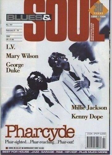 Pharcyde on Blues & Soul Magazine Cover 1995    Mary Wilson    Millie Jackson