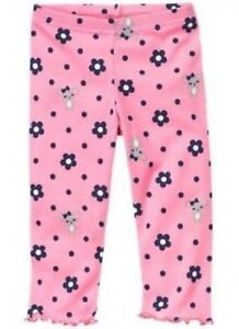 Gymboree Girls Miss Mouse Leggings, Choice 1, NWT, 6-12, 12-18, 18-24 ,2T, 4T,5T