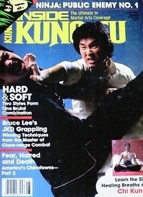 RARE 6/86 INSIDE KUNG FU DOC-FAI WONG CHOI LI-FUT BLACK BELT KARATE MARTIAL ARTS