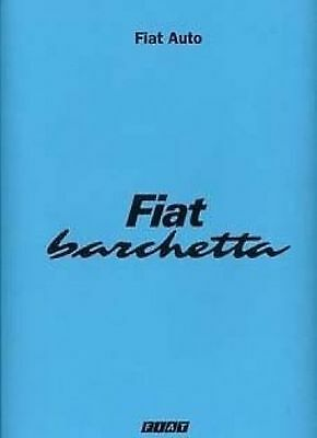 FIAT Barchetta Shop manual Very Large Catalogue Book Paper