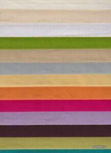 toile a drap tissu coton uni au metre largeur 280cm alex tissus le metre ebay