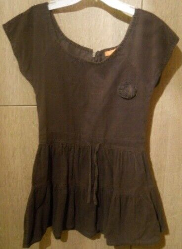 Staccato * Kleid * Cordkleid * für Mädchen * braun * Gr. 116