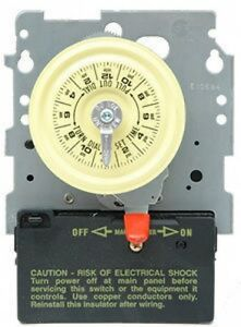 intermatic t101m 110v swimming pool mechanical timer
