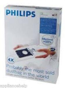 Genuino-Philips-Bolsas-para-aspiradora-S-Mochila-FC8021-4pk