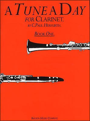 A Tune A Day For Clarinet Book 1 - Learn How To Play Sheet Music Book
