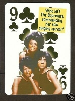 The Supremes Diana Ross  Neat Card! #9Y6