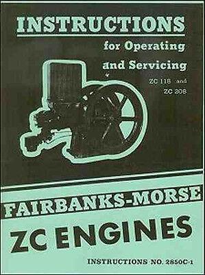 Fairbanks Morse ZC 118 and ZC 208 Engines Instruction Manual