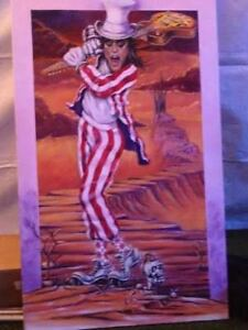 Signed Alice Cooper Oil on Canvas 1 of 1
