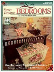Donna-Dewberry-One-Stroke-Book-Sweet-Dreams-Bedroom-Decorative-Painting-Book