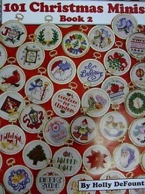 Cross Stitch Chart/Pattern - 101 Christmas Minis -  Book 2