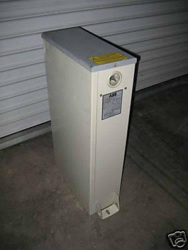ABB CLMD83 C1 Capacitor 40 KVAR LVNQ 480V 60Hz CLMD Asea Brown Boveri
