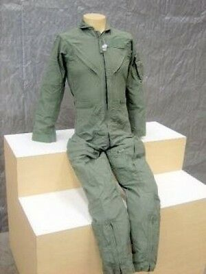 Women's Flight Suit (NEW ARMY NOMEX® WOMENS CWU-27/P SAGE FLIGHT FLYERS SUIT COVERALLS 44 WS)