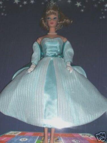 2001 Barbie Convention Queen of the Prom Aqua RARE 30WW