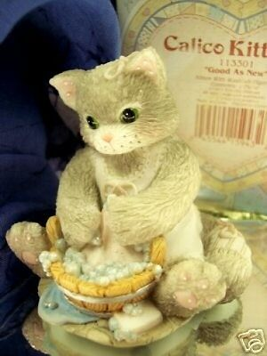 Calico Kittens CLEANLINESS -  113301 NIB * FREE USA SHIPPING!