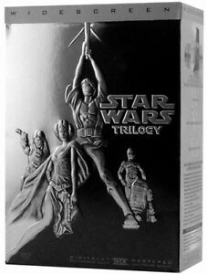 Star Wars Trilogy DVD Widescreen Rare Collectors Edition set