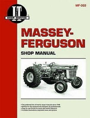 For Massey Ferguson It Shop Manual 175 180 250 210 300