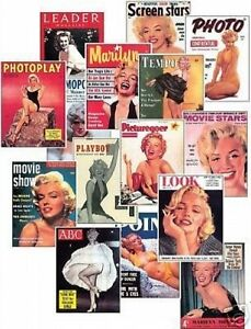 Marilyn Monroe Magazine Cover NEW Trading Card Set